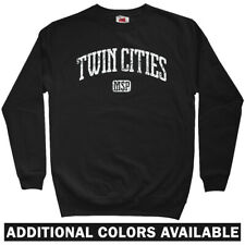 Twin Cities Sweatshirt Crewneck - Minnesota Twins Minneapolis St Paul  Men S-3XL