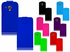 Premium Magnetic Flip Leather PU Case Cover For Samsung Galaxy Trend Plus S7580
