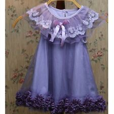 Flower Girl Toddler Baby Kids Princess Wedding Party Pageant Holiday Tulle Dress