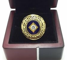 1955 Brooklyn Dodgers World Series Championship Ring size 8-14 US Solid gift