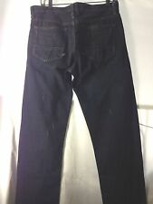 RICK OWENS SLAB MKD2002 SELVEDGE DENIM JEANS MENS HOGS 2 WASH