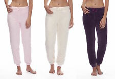 FOREVER DREAMING Ladies Womens Snuggle Fleece Pyjama Bottoms Lounge Pants Plain