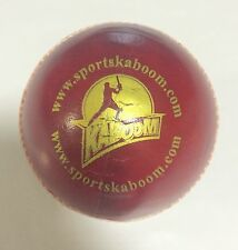 KABOOM Test 4 Piece Red Cricket Leather Ball 1/2/3/6/12 + AU Stock + Free Ship