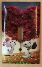Peanuts Snoopy Loving Tree Light Switch Duplex Power Outlet Cover Plate decor