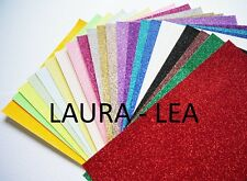 Glitter Card A4 -  Quantity 15 sheets comes in 28 colours