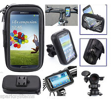New Bicycle Handle Holder Universal Waterproof Case For All Cell Phone PDA iPod