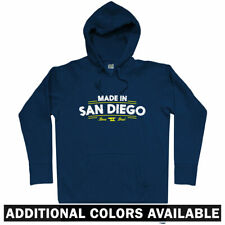 Made in San Diego V2 Hoodie - CA California SD Chargers Padres 619 - Men S-3XL