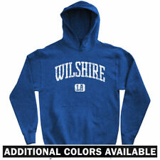 Wilshire Los Angeles Hoodie - CA California Boulevard Blvd LA Dodgers  Men S-3XL