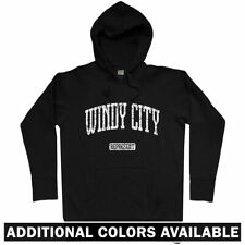 Windy City Represent Hoodie - Chicago Chi-Town Bears Bulls Cubs Fire - Men S-3XL