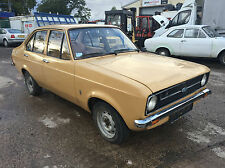 Ford Escort MK2 4 door 1.1 LHD In good Condition Rare
