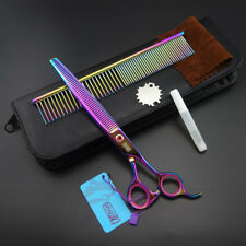 7.5 inch Pro.Dog GROOMING SCISSORS Thinning Shears+Stainless steel comb K573