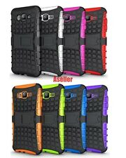 For Samsung Galaxy J7 3D 2-Layer Shock Skip Proof Grenade Rugged Impact Case