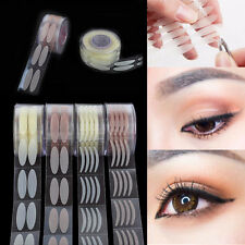 300 Pairs Invisible Roll Double Eyelid Tape Adhesive Eyelift Tape Sticker + Fork