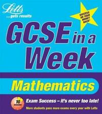 GCSE IN A WEEK: MATHS TO A* (REVISE GCSE IN A WEEK), LEE COPE, CATHERINE BROWN,