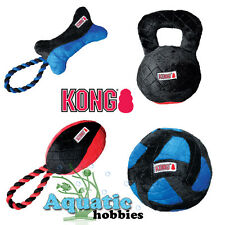 Kong CrossBit Large Squeak Plush Toy Fetch Fun Fitness For Dog Puppy Choose Toy