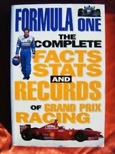 FORMULA ONE: THE COMPLETE FACTS STATS AND RECORDS OF GRAND PRIX RACING, BRUCE JO
