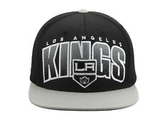 Los Angeles Kings Mitchell & Ness Current Logo Double Bonus Snapback Hat - Black