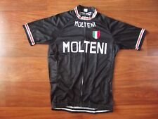 Brand New Team Molteni Black cycling Jersey, Eddy Merckx