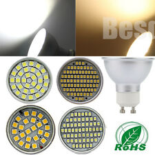 4X GU10 80/60/30/24 SMD LED 120°WIDE ANGLE ALUMINUM Dimmable Downlight BULB LAMP