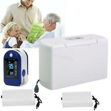 Portable Oxygen Concentrator Generator Home care Car Travel or Battery /Oximeter