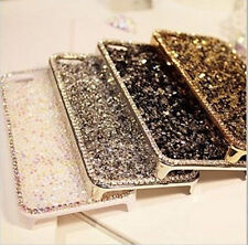 Luxury Bling Diamond Crystal Metal Hard Case Cover for Apple iPhone 5 6 6s 6Plus