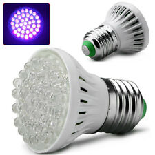 E27 UV Ultraviolet 38 LED Light Lamp Bulb Torch 110/220V GLOW BULB Ultra Bright