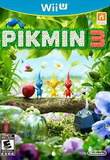 Pikmin 3 (Nintendo Wii U, 2013) Game - Great Condition! Complete Manual & Case