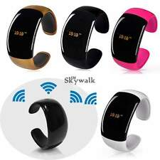 Wireless Bluetooth Smart Wrist Watch Phone Bracelet For IOS Android Samsung SYL