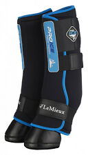 LeMieux PRO ICE Cold Therapy Compression Wraps/Boots Reduce/Heal Tendon Swelling