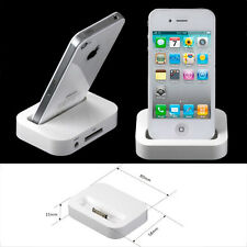 New! Portable Dock Docking Station Charger Cradle Stand For Apple iPhone 4 4S UD