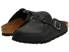 Birkenstock Oiled Leather BOSTON $199.95rrp - Matte Black 45-48 BNIB