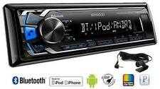 KENWOOD KDC-U563BT CAR RADIO CD MP3 FONT AUX USB IPHONE ANDROID BLUETOOTH STEREO