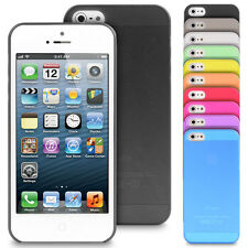Ultra Thin Super Light Weight 0.3mm Transparent Matte Phone Case Cover For Apple