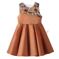 Toddler Girls' Fashion Colorful Sequins Gril Dress Beading Princess Summer Dress