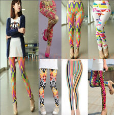 Fashion Sexy Women Funky Punk Leggings Slim Stretchy Pencil Skinny Pants