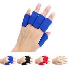 10pcs Stretch Elastic Sports Basketball Finger Guard Support Sleeves Protector