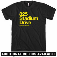 Iowa Football Stadium T-shirt - IA City UI Hawkeyes University of - Men S-4XL