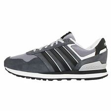 Adidas Neo Label 10K Grey White Mens Casual Shoes Sneakers Trainers F99290