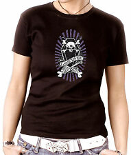 ab04 Women's shirt or Top Fun Rock 'N' Roll Emo Punk Gothic Game Over Coffin