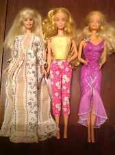 3 Vintage Barbie Doll VGC