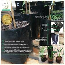 2.8 L Premium black poly, Planter Bags. Range of pack sizes. Herbs, shrubs, tree