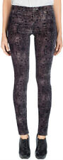 J Brand 815 Super Skinny Anatolia Floral Velveteen Jeans Mirage NWT
