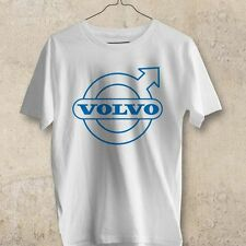 Volvo Car Logo white black T-Shirt S M L XL 2XL 3XL