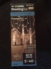 Lightshow Shooting Star Icicle Set - Frozen Fire - 5 Icicle + 40 Lights - 37694