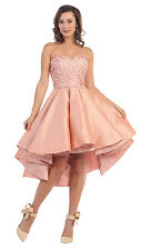 TheDressOutlet Homecoming High Low Formal Prom Dress Evening Gown