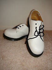 Doc Dr. Martens 3 Eye Lace Up 1925 White Women's Sz US 10 NEW Leather