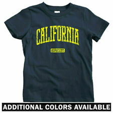 California Represent Kids T-shirt - Baby Toddler Youth Tee Los Angeles San Diego