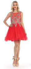 TheDressOutlet Short Formal Prom Dress Cocktail Homecoming