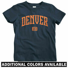 Denver 303 T-shirt - Baby Toddler Youth Tee - CO Colorado Mile High City Broncos