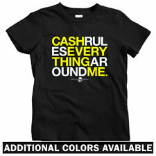CREAM T-shirt - Baby Toddler Youth Tee - Cash Rules Everything Wu-Tang Hip-Hop